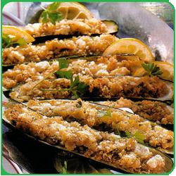 Лодочки из цуккини с пряным рисом
