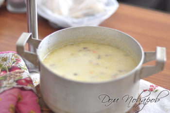 Суп однородной консистенции