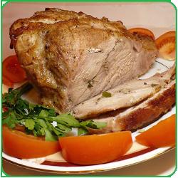 Мясо свинины запеченное в духовке