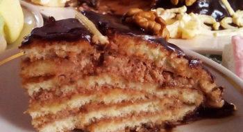 Торт «Черепаха» со сметаной