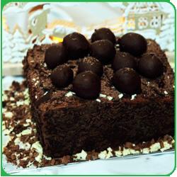 Шоколадный трюфельный торт