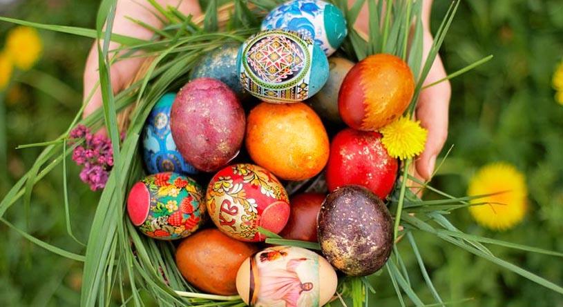 Красим яйца на пасху — 20 способов