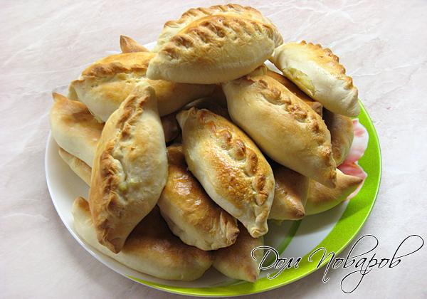 Пирожки, печенные в духовке