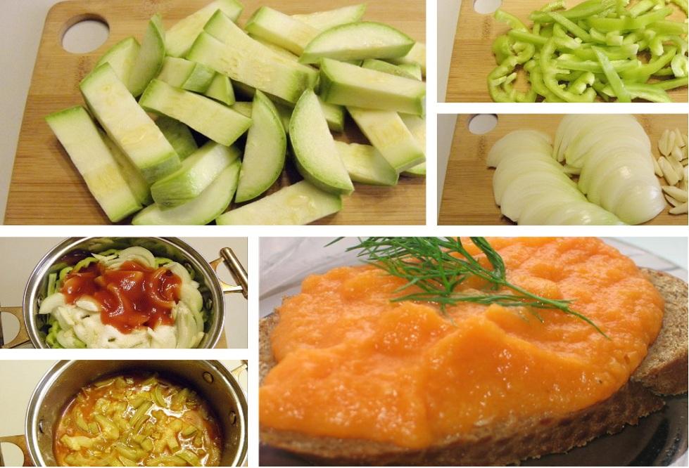 приготовление овощной икры