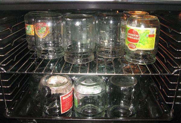 банки в духовке