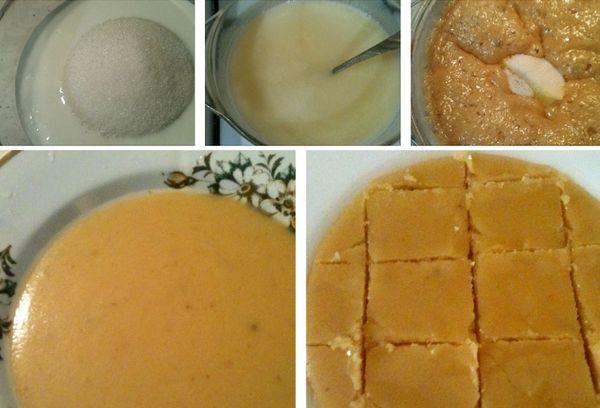 приготовление сливочной карамели