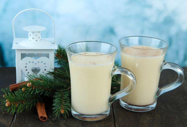 Молочно-яичный напиток