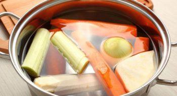 Как сварить овощной бульон