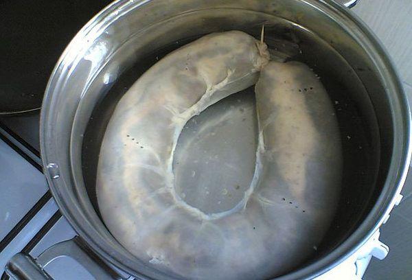 колбаса для варки в кастрюле
