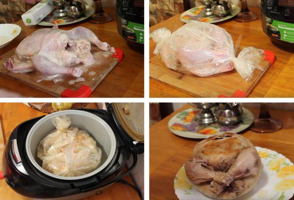 приготовление курицы в соку