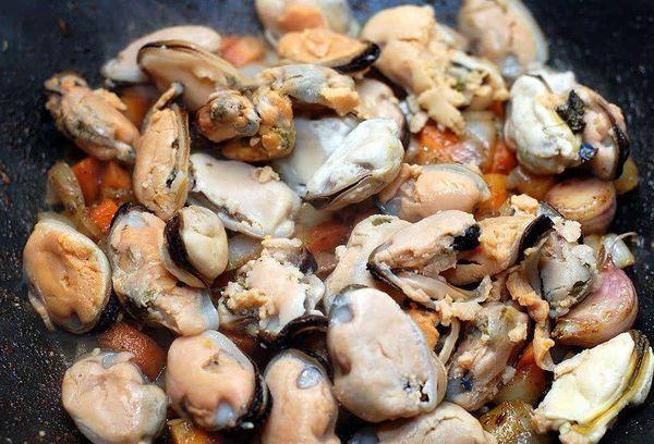 очищенные морепродукты