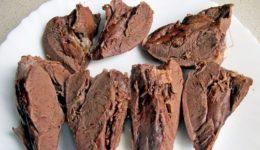 Как и сколько варить говяжье сердце