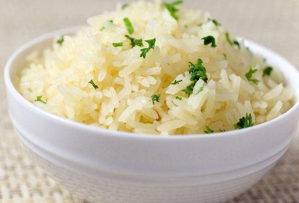 варенный пропаренный рис