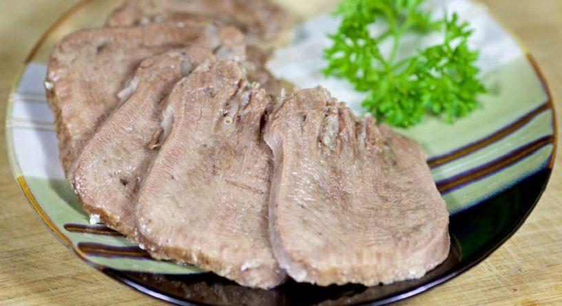 говяжий язык рецепты приготовления салаты