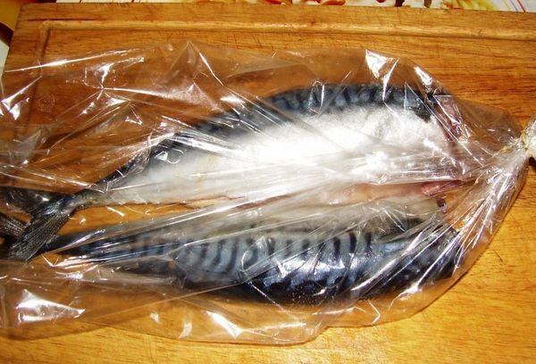 рыба в пакете для запекания