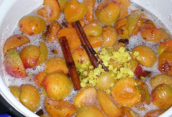 абрикосовое варенье с цитрусами