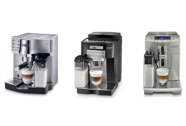 три кофемашины