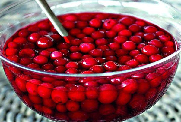 моченные ягоды