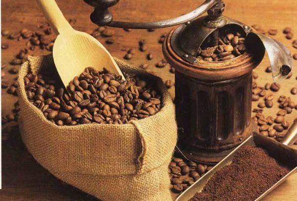 зерна кофейные