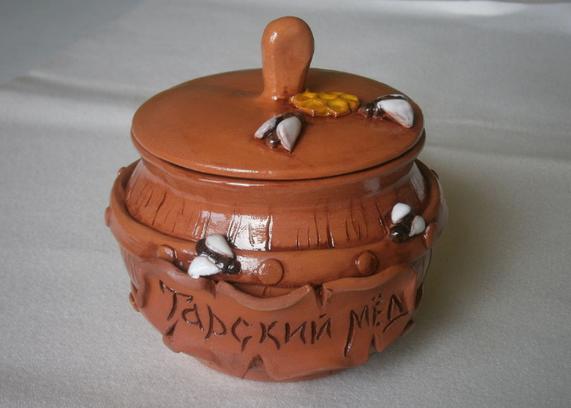 мед в керамической таре