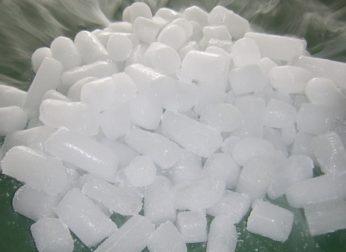 Как хранить сухой лед