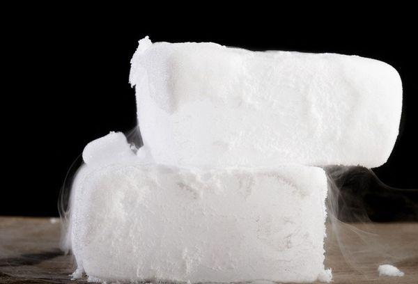 сухой лед своими руками
