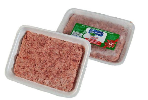 замороженный мясной фарш