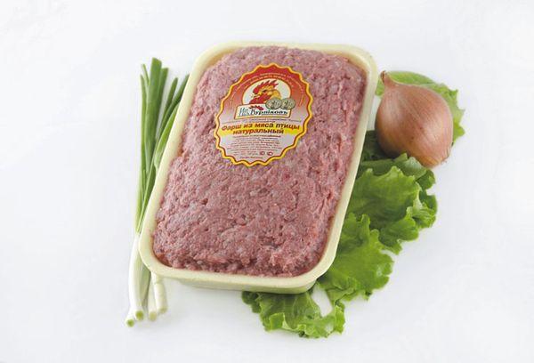 мясной фарш в упаковке