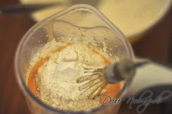 Тесто для кекса с тыквой