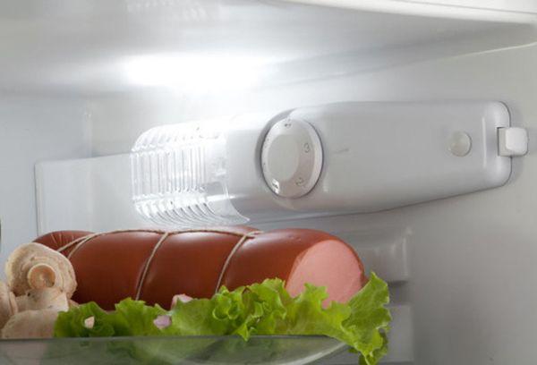 колбаса в холодильнике