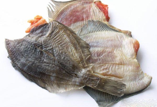 Рыба камбала вяленая