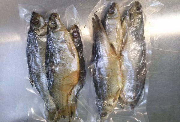 рыба в ваккуме