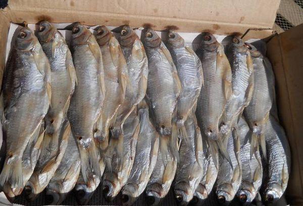 вяленая рыба замороженная