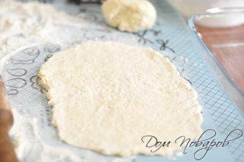 Сырное тесто для пирога