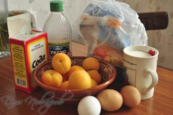 Состав продуктов для шарлотки