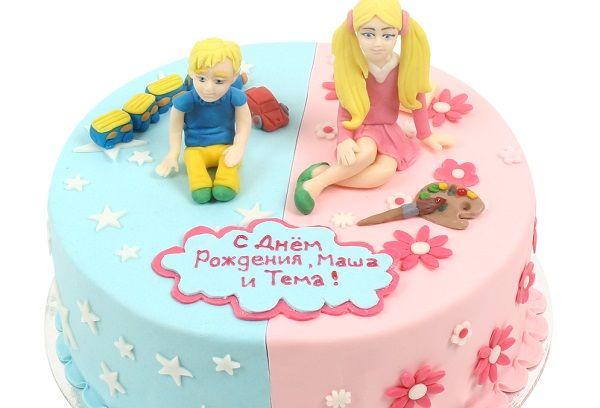 Торт для близняшек