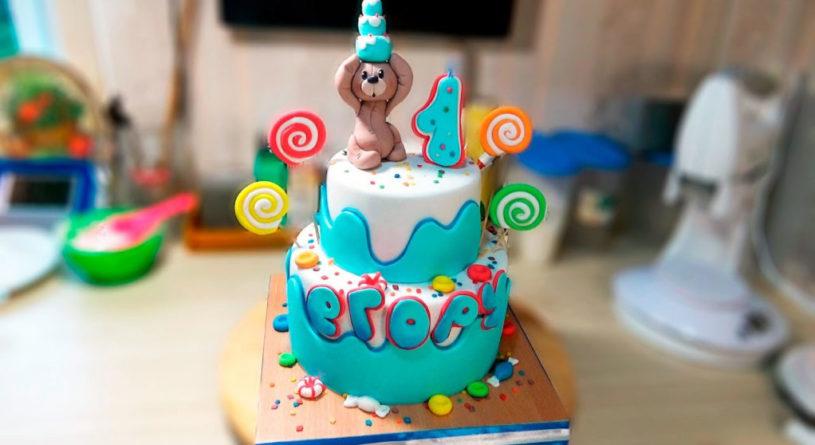 Как можно украсить торт для мальчика и для девочки