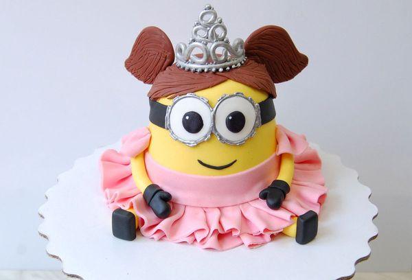 Торт Миньон-девочка