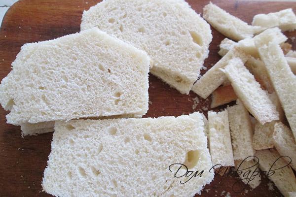 Белый хлеб без корочек