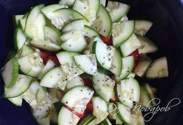 Основа для овощного салата