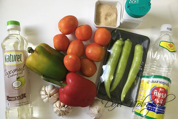 Ингредиенты для салата Заманиха