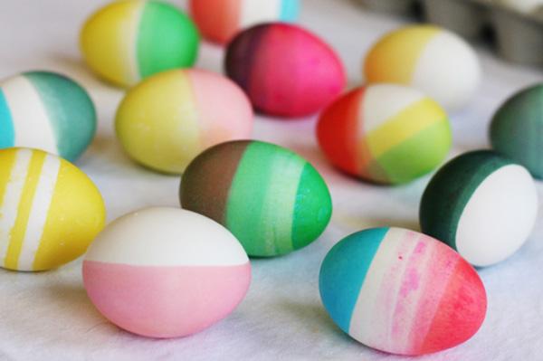 Необычные пасхальные яйца