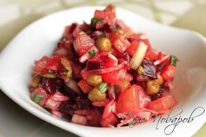 Классический рецепт салата «Винегрет»