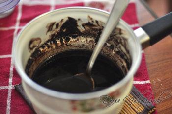 Жидкая шоколадная масса