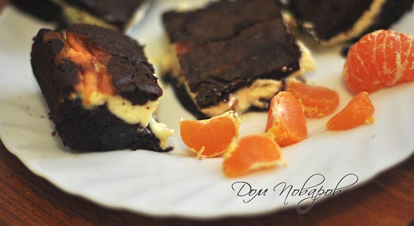 Пирожное Брауни с шоколадом
