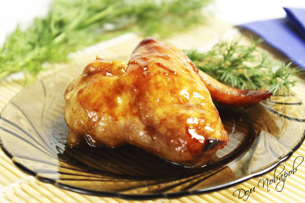 Крылышки в медовом соусе
