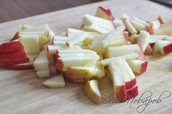 Яблоко соломкой