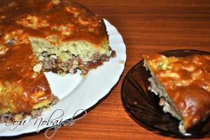 Пирог с фаршем