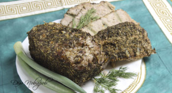 Мясо запеченное в духовке
