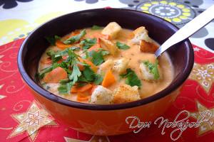 Суп пюре из овощей